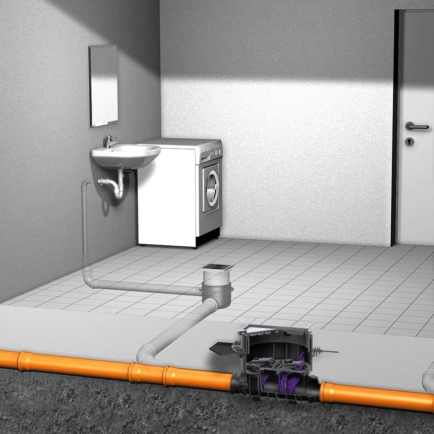 Abwasserpumpstation und Rückstausicherung - für Ihr Gebäude